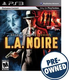 L.A. Noire — PRE-Owned - PlayStation 3