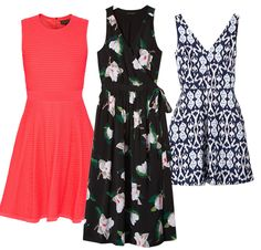 Every Single Kind of Dress You Need This Summer - Shop the look, fit-and-flare dresses:  - from InStyle.com