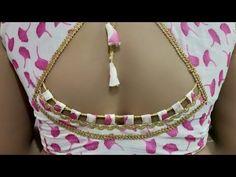 Most beautiful 2029 letest model blouse design cutting and stichting Kerala Saree Blouse Designs, Cutwork Blouse Designs, Patch Work Blouse Designs, Saree Blouse Neck Designs, Simple Blouse Designs, Stylish Blouse Design, Sari Blouse, Ruffle Blouse, Lehenga Saree Design