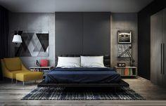 Bedroom Art And Lighting Design Ipc251 - Newest Bedroom Design - Al Habib Panel Doors