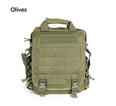 Explosion Proof Waterproof Antitheft Anti Scratch Ykk Zipper Bag Slr Camera Bag Olive ** Details can be found by clicking on the image.(This is an Amazon affiliate link and I receive a commission for the sales)