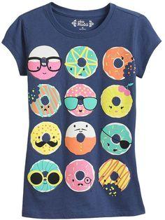 Mudd doughnut tee - girls plus on shopstyle.com