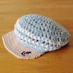 marine cap (Women Newsboy Cap)