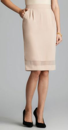 Pencil Skirt with a different kind of kick pleat. (Sew Hopeful ...