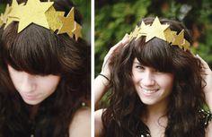 13 DIY New Years Eve Headbands and Head Adornments