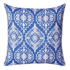 Cojines Decorativos Azules Charmoy I, juego de 2 unidades http://www.nuryba.com/textiles/cojines-decorativos