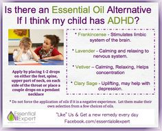 Essential Oils to help your child with ADHD
