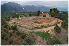 Ancient Mycenaean Palace Unearthed In Greece Near Sparta