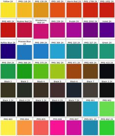 Perfect Sample Pms Color Chart 9 Best Images Of Pantone Color Reference Chart   Pantone  Color .