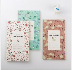Notebooks & Writing Pads Cute Kawaii Cartoon Animal Finger Unicorn Memo Pad N Times Sticky Note Paper Korean Stationery Cat Planner Sticker School Office To Enjoy High Reputation In The International Market