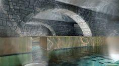 Stunning Thermalbad Spa built in Old Hurlimann Brewery in Zurich, Switzerland