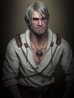 Geralt by AnubisDHL.deviantart.com on @DeviantArt