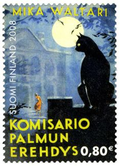 Finland, 2008. Detective Fiction on Stamps: Finland: Mika Waltari's Inspector Frans J. Palmu.