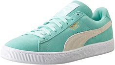 PUMA Women's Suede Classic WN'S Classic Style Sneaker,Holiday/White,11 B US