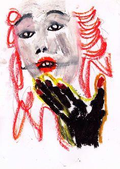 Niña Japón - http://redarte.com.ar/2013/07/nina-japon/ #RedArte #Art #Arte #Pintura #Japon