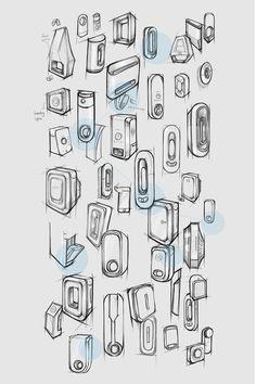 Airome - Smart Air Purifier on Behance Industrial Design Portfolio, Industrial Design Sketch, Portfolio Design, Portfolio Layout, Prop Design, Design Concepts, Ad Design, Design Design, Graphic Design