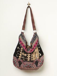 Free People Indian Summer Hobo, £98.00 multicoloured patterned bag