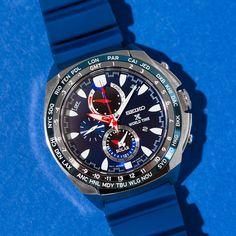 Seiko USA / Seiko Style / Prospex World TIme Solar Chronograph