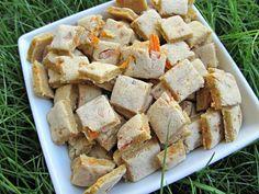 (dairy, wheat and gluten-free, vegan, vegetarian) carrot banana  (doggydessertchef.com)