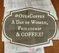 Have you ever met someone and just had a feeling it was meant to be? I'm not talking romance but friendship – true friendship. The kind that you can tell has give and take, potential and possibilities. Those are all the things I knew were possible... #OverCoffee | #MrsTeeH