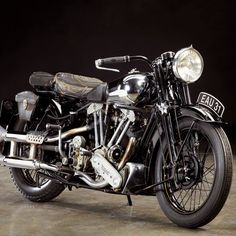 Vintage Motorcycles Classic Past Perfect: The 1937 Brough Superior - Classic British Motorcycles - Motorcycle Classics - A collector's Brough Superior in original condition was once also owned by one of our writers and by George Brough himself. British Motorcycles, Triumph Motorcycles, Vintage Motorcycles, Indian Motorcycles, Custom Motorcycles, Custom Baggers, Custom Bikes, Motorcycle Images, Motorcycle Style