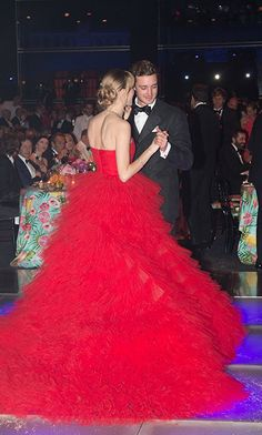 The royal pair was spotted out in March dancing at the 62nd Rose Ball to Benefit the Princess Grace Foundation.