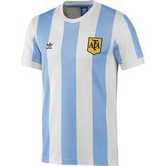 c35fa3ce16880 adidas Camiseta de Fútbol Retro Selección Argentina