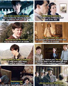 Edmund is so sassy