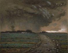 Jean-François Millet, Coming Storm, 1867-68