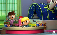 Telmo y Tula manualidades para niños, artesanias infantiles, actividades manuales. Videos de dibujos con ideas creativas