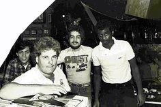 Walter Gibbons and Tony Smith at The Funhouse.