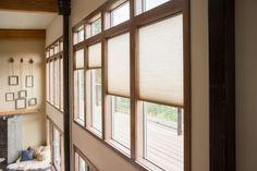 Blog Cabin's foyer = Natural light heaven!