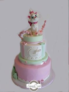 Minu/Marie, The Aristocats - Cake by manuela scala