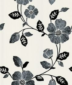 Beacon House 283-46961 Ink Poppy White Modern Floral Wallpaper Brewster http://www.amazon.com/dp/B0047Y0D6G/ref=cm_sw_r_pi_dp_sf73wb00BNJ2E