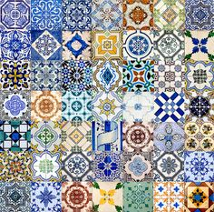 Tiles Of Portugal | There are 49 tiles in the collage. I too… | Flickr