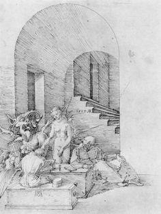 Temptation via Albrecht Durer