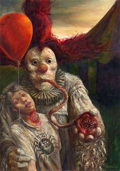 Clowns give me nightmares