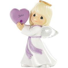 Precious Moments June-Alexandrite Birthstone Angel