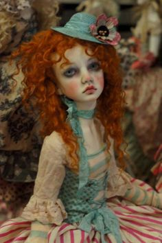 Dollstown OOAK Amy by the one and only Val Zeitler.