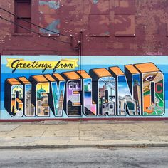 Greeting from Cleveland! Oh, how I've grown to love this city!