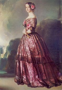 Francisca de Bragança, Princesa de Joinville, 1850, Winterhanter.