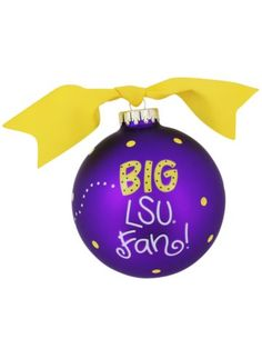 Image detail for -LSU Wonderful, Sports, Christmas Ornaments ...