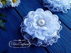 Фотография Felt Headband, Rose Headband, Baby Headbands, Cloth Flowers, Fabric Flowers, Hair Bow Tutorial, Ribbon Sculpture, Kanzashi Flowers, Satin Roses
