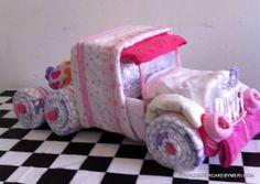 Gâteau de couches pièce de douche de bébé par Christianscraft, $80.00