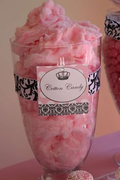 Vintage crown w/ pink damask, feathers & black & white Birthday Party Ideas   Photo 2 of 141   Catch My Party