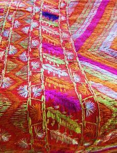Phulkari Embroidered Blanket | Gallery One Nine