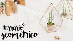 DIY: Terrário Geométrico Urban Outfitters Inspired