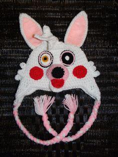 Crochet Five Nights at Freddy's Hat Mangle