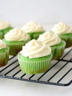 Key Lime Cupcakes, oh my yes!