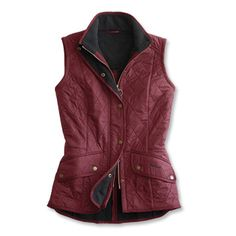 6dacd68a977 Women s Quilted Fleece-Lined Vest From Barbour   Barbour® Women s Cavalry  Gilet